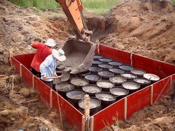 Sử dụng móng phễu đem lại hiệu quả thi công công trình cao
