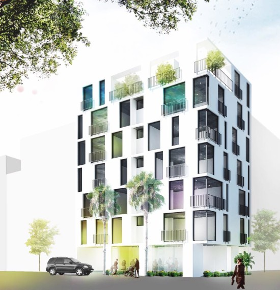 The building in 535 Kim Ma street, Ba Dinh District, Hanoi