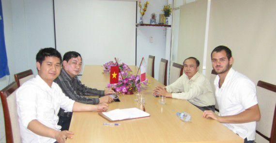 Đại diện Bubbledeck Malta sang thăm và làm việc tại TADITS