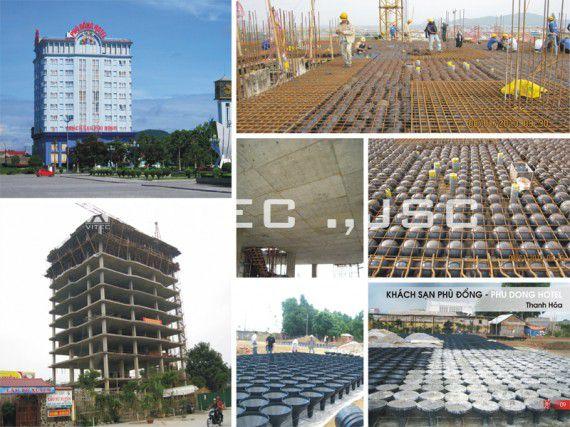 Khách sạn Phù Đổng được xây dụng theo công nghệ sàn rỗng C-Deck