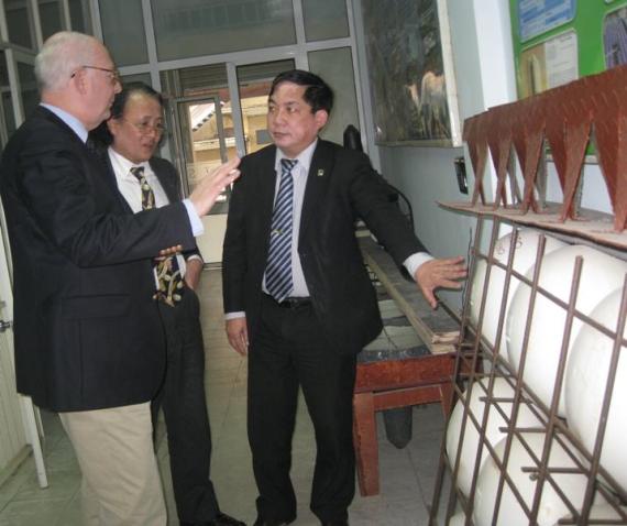 Ông Ewald Houben - Giám đốc điều hành Cty AIRDECK  thăm và làm việc tại Cty CP TADITS Việt nam (2)