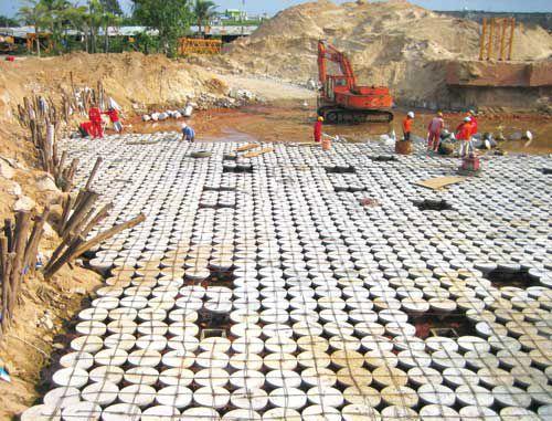 Công nghệ móng không dùng cọc Top base là một giải pháp tối ưu nhất cho nền đất yếu