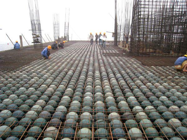 Sàn bubbledeck là công nghệ sàn mới và hiện đại mới có mặt tại Việt Nam trong thời gian gần đây